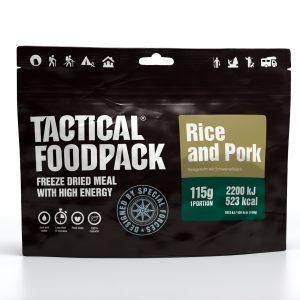 Tactical Foodpack ryžiai su kiauliena 115 g