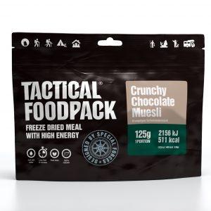 Tactical Foodpack traškūs šokoladiniai javainiai 125 g
