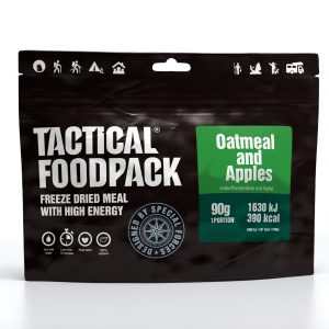 Tactical Foodpack avižiniai dribsniai su obuoliais 90 g