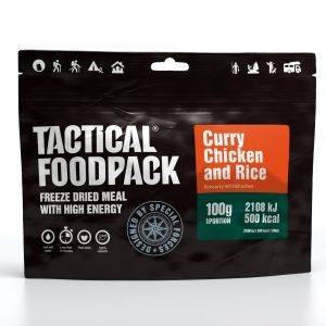 Tactical Foodpack kario vištiena su ryžiais 100 g